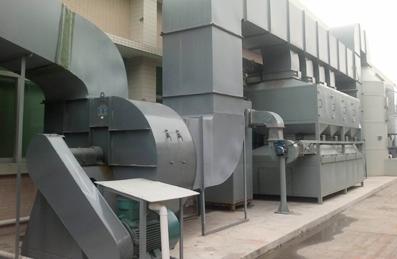 廢氣除塵管道工程